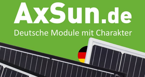AxSun - solar panels made in Germany