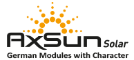 AxSun - German Solar Modules with Charakter