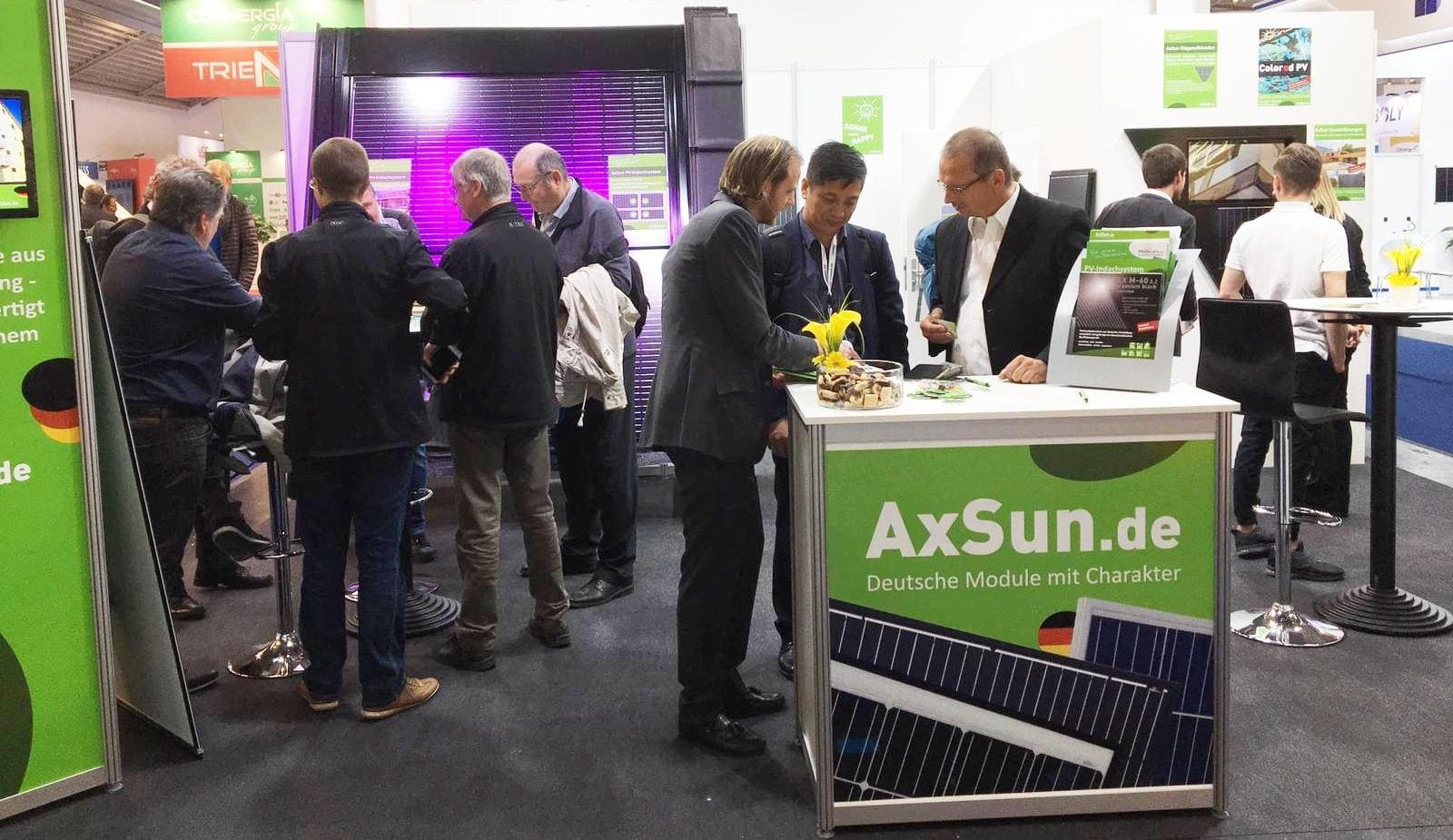AxSun Intersolar 2018